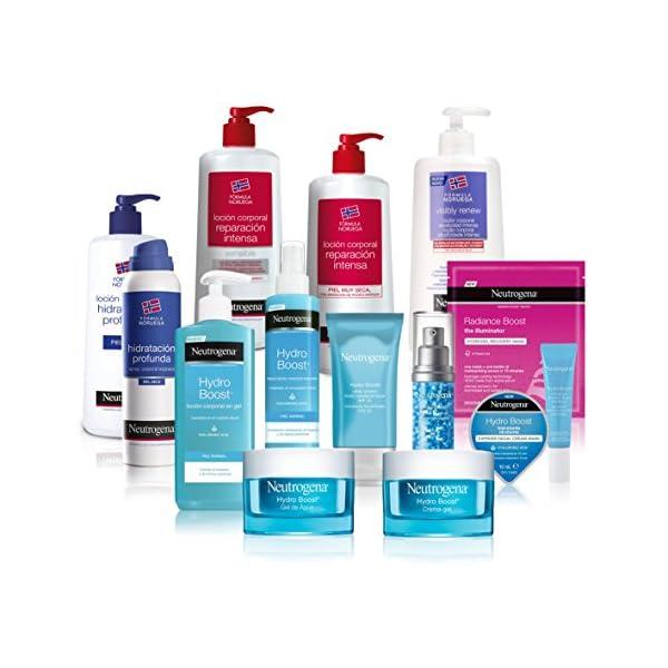 Neutrogena, Crema Facial – Gel de agua Hydro Boost, hidratación duradera y no grasa – Suavidad y elasticidad –  50 ml