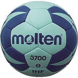 molten Handball - Pelota de balonmano, color azul, talla 2