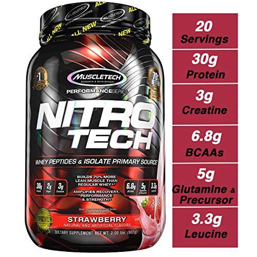 Muscletech Suplemento para Deportistas Nitro Tech Performance Series