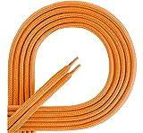 Ladeheid Qualitäts-Schnürsenkel aus 100% Polyester LAKO1001 (orange77, 90cm)