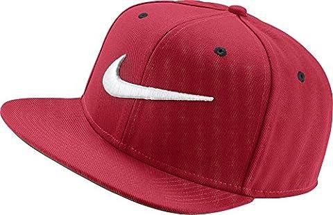 Nike Swoosh Pro - Bleue - Casquette Homme, couleur Rouge, taille unique