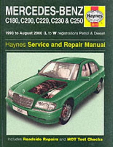 mercedes-benz-c-class-petrol-and-diesel-1993-2000-service-and-repair-manual-service-repair-manuals