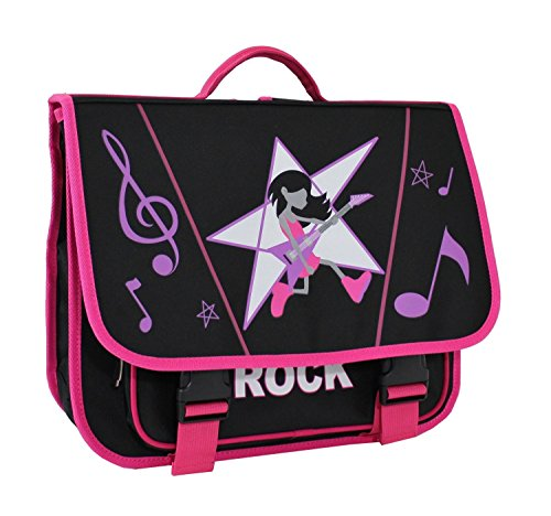 Cartable Scolaire Alistair - 38cm - Fille - New Rock
