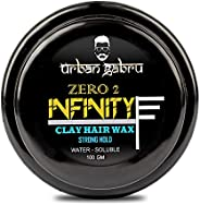 UrbanGabru Hair Wax : Zero to Infinity- Strong Hold | Volume | Hair Style 100 GM