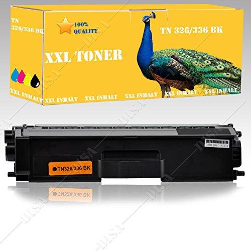 Preisvergleich Produktbild 1x Toner SCHWARZ alternative zu TN326 TN336 BROTHER HL L8250 CDN / HL L8350 CDW / DCP L8400 CDN