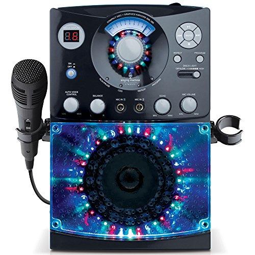 singing-machine-sml385systme-pour-karaok-lot-de-3cd-g-avec-chansons-prt-lemploi-noir