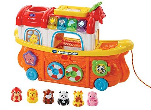 Vtech Baby 80-504504 - Tip Tap Baby Tiere - Ausflugsschiff