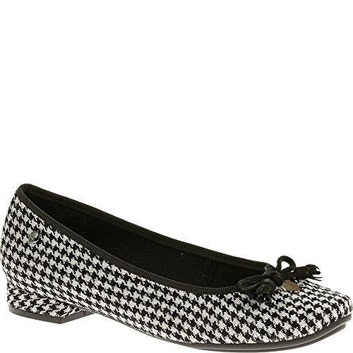 Hush Puppies Annika Channing, Stivali donna Black/White Textile