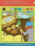 Farbe Für Buchstabe Für Kinder: Bibel Und Christ-Thema