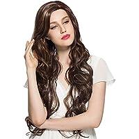 Namecute capelli lunghi ondulati, colore: biondo misto 91,44 cm (36