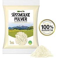 Molkepulver Molke Molkenproteinpulver Süßmolke Süßmolkepulver Naturprodukt aus Deutschland 1kg