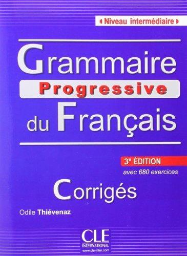 Grammaire Progressive Du Franais Nivea by Odile Thievenaz (2013-09-23)