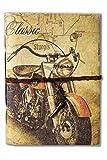 #5: SPcreation Classic Bike Handmade Diary(12.7cm x 17.78 cm)(94 pages)