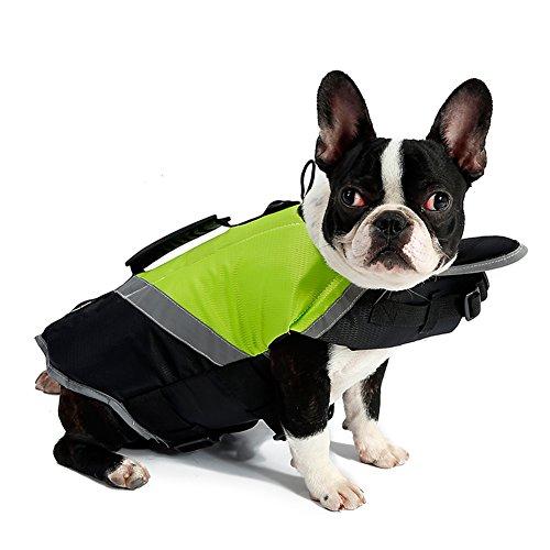 Petneces Hunde, tragbar, tragbar, Weste, Jacke, Warnweste für die Sicherheit Lifesaver Pet Life Preserver