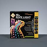 PREMIER XMAS - 10M MULTI ACTION ROPE LIGHT CLEAR