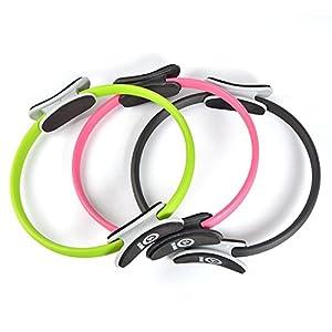 Zen Power Pilates Ring/Yoga Ring – Trainingsgerät für effektives Kraft- und Widerstandstraining, Circle mit 38cm Durchmesser
