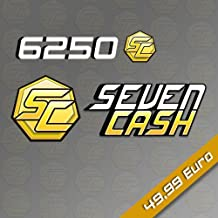 6250 SevenCash [Online Game Code]