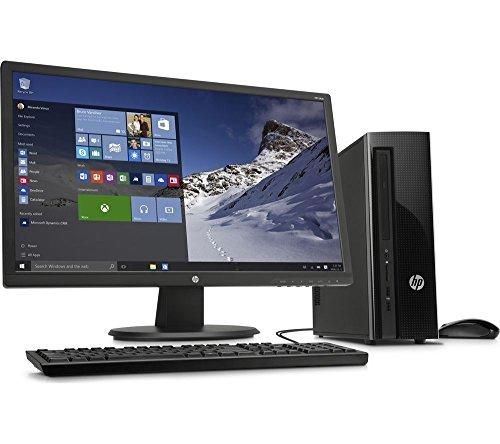 HP 411-a000na Desktop PC & 22