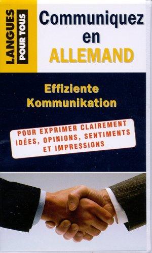 Coffret communiquez en allemand