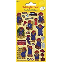 Paper Projects 01.70.06.107 Paddington Bear Foiled Sticker Pack