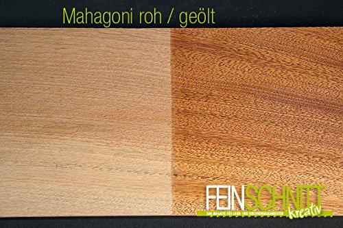 Massivholz Mahagoni (450 x 150 x 20 mm (1 Stück))