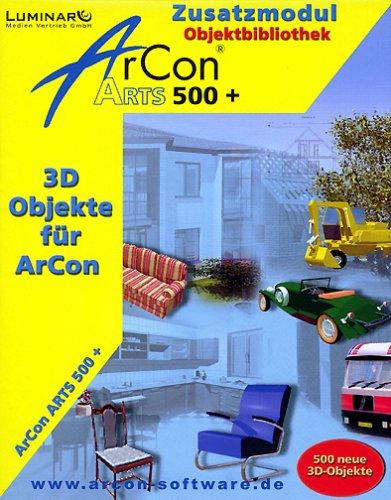 arcon-arts-500-plus-1-cd-rom-zusatzmodul-objektbibliothek-benotigt-arcon-ab-3x-fur-windows-95-98-me-
