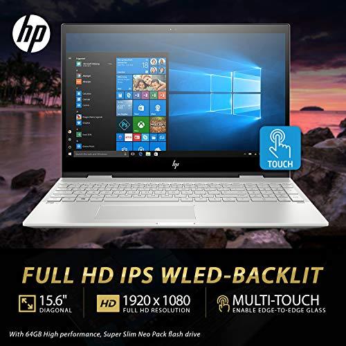 "HP Envy x360 15T Late 2019 i7-8565U 1.8GHz, 4GB MX150 Nvidia, 16GB RAM, 1TB 7.2K RPM+16GB Intel Optane, 15.6"" FHD Contact, Win 10 Dwelling, B&O Audio system, HP Stylus, USB-C, Fingerprint Reader Image 3"