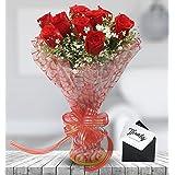Floraindia, 8 Roses Bunch
