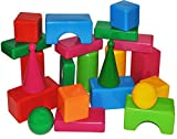 Unbekannt XXL Bausteine 22 tlg. Set - für Draußen und Drinnen - groß Plastikbausteine Kunststoff Baustein für Kinder Kindergarten / Bauklötze - Baustein