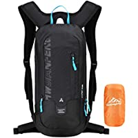 10L mini mochila de esquí de ciclismo impermeable, bicicleta ligera de pequeño tamaño Bike Backpack para el senderismo Camping Mountaineering Trekking de Ultrashang (Biking Daypack)