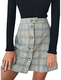 cc1616b62c5a Suchergebnis auf Amazon.de für: Knöpfe - Röcke / Damen: Bekleidung