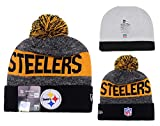 Popular Elements Pittsburgh Steelers Beanies/Knitted Hat for one size Unisex