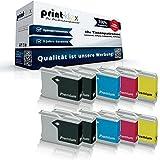 10x Kompatible Tintenpatronen für Brother MFC 5860CN MFC 660CN MFC 665CW MFC 680CN MFC 685CW MFC 845CW MFC 885CW Black Cyan Magenta Yellow Sparset