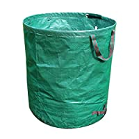 Bweele Collapsible Dustbin, Portable Folding Oxford Towel Storage Bin Garden Camping Camping Recycling For Trash Can Leaves Grass Weed Cuttings Reusable