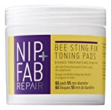 Nip+Fab Bee Sting Fix Toning Pads, 1er Pack (1 x 80 ml)