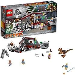 LEGO Jurassic World Caza del Velociraptor en Parque Jurásico (360 piezas)