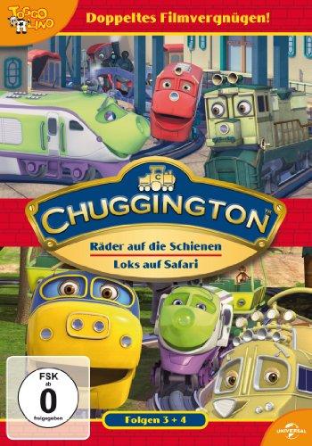 Chuggington 03 - Räder auf die Schienen / Chuggington 04 - Loks auf Safari [2 DVDs]