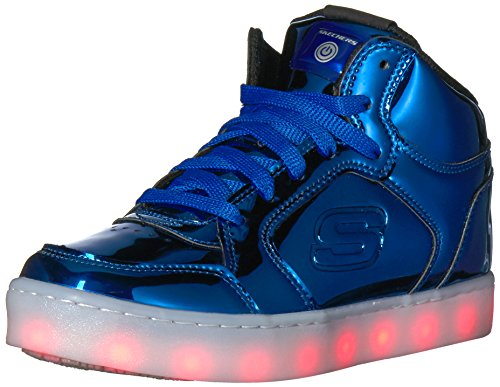 Skechers Boys' Energy Lights-Eliptic Trainers, Blue (Royal), 2 UK 35 EU