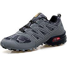 ee819ffd100 XIANV - Zapatos Planos con Cordones de Caucho Hombre