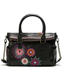 Desigual Bolso Amelie Loverty Camel Mujer