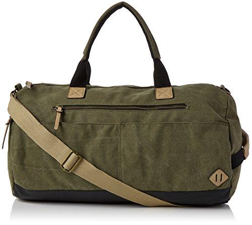 New Look Holdall, Sacs portés main homme, Green (Light Khaki), 37x23.5x54 cm (W x H L)