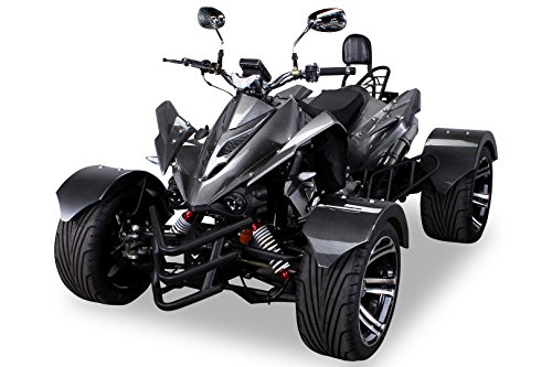 Speedstar 300cc Automatik Quad carbon/grau- mit Straßenzulassung für 2 Personen CVT Automatik mit Rückwärtsgang TIEF - FETT - BREIT