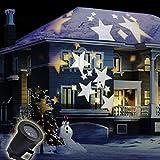 GAXmi Fée de Noël Lumières LED Blanc chaud Étoiles Modèle Éclairage pour  Vacances Jardin Pelouse De