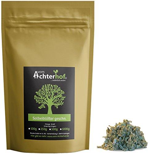 Salbei geschnitten Salbeitee 500 g als Tee oder zum würzen natürlich vom-Achterhof