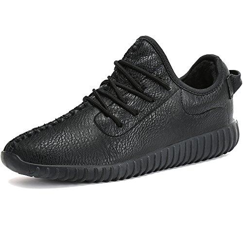 Herren-casual-boot-schuhe (Warm Gefütterte Winterschuhe Herren Damen Winter Boots Wasserdicht Freizeitschuhe Outdoor Sport Schuhe Casual Sneakers Schneestiefel, Schwarz 43)
