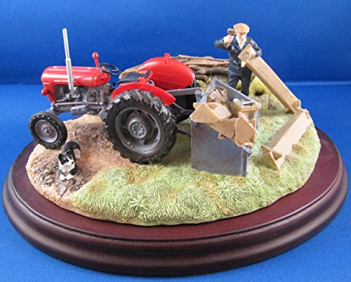 Border Fine Arts Studio Tractor Model Massey Ferguson Repairs Required