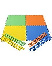 eHomeKart Pablo Honey EVA Kids Interlocking Play Mat Set o
