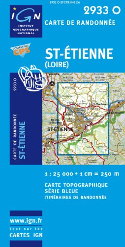 St-Etienne GPS: IGN2933O