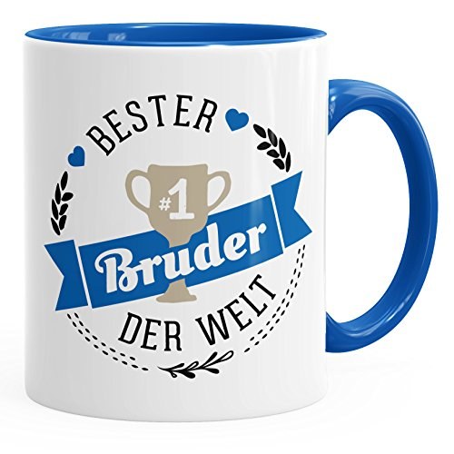 MoonWorks Kaffee-Tasse Bester Bruder der Welt Geschenk für Bruder Royal Unisize