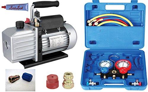 set-climatizacion-automovil-coche-bomba-de-vaco-tv-analizador-mangueras-51-57-lt-r410a-r404a-r134a-r